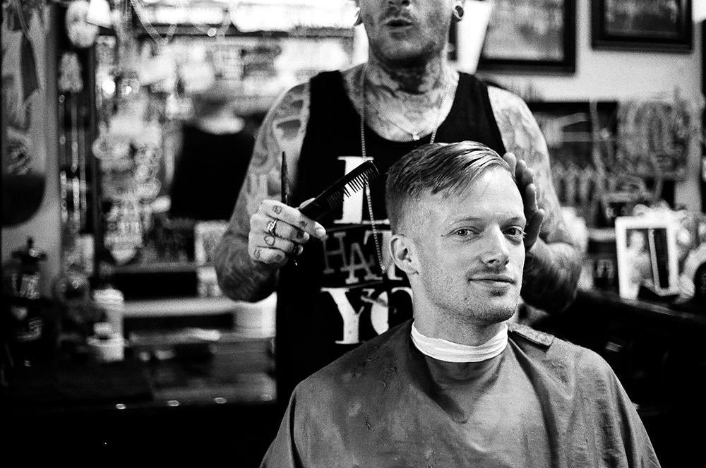 Astronautalis Barber