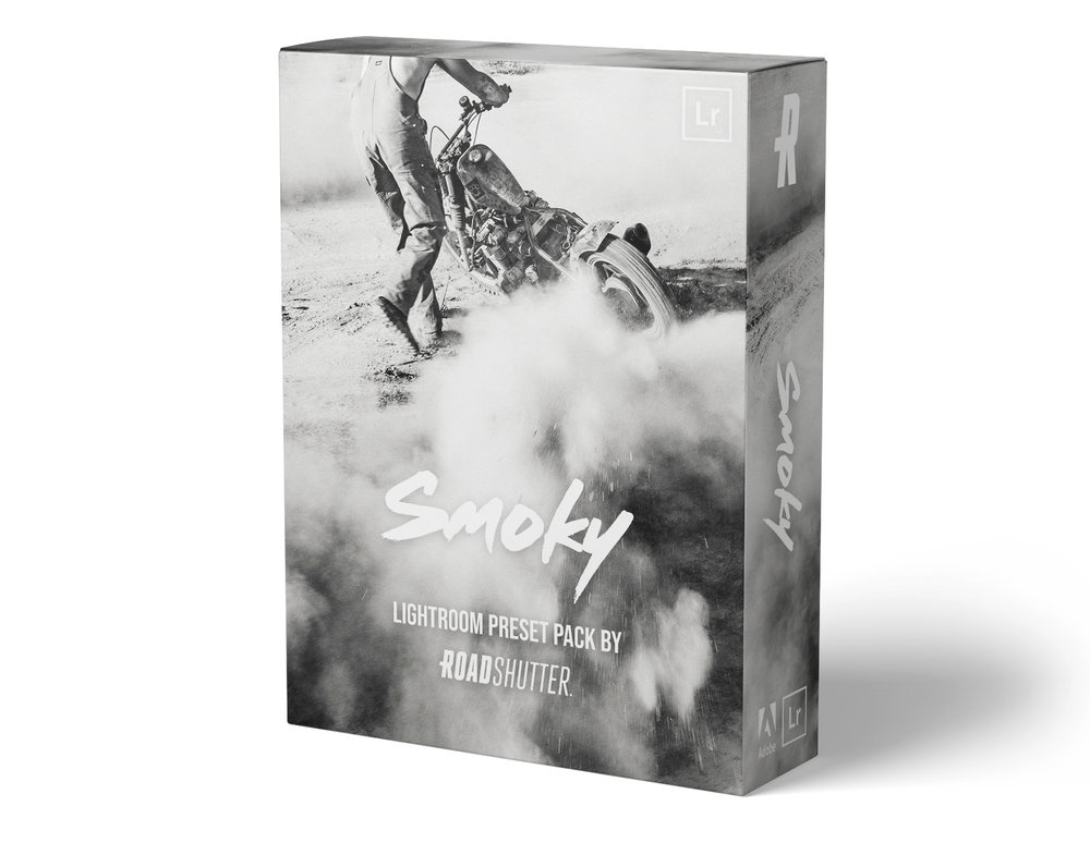 Smoky Preset Pack - 12 unique and fully customizable Lightroom CC presets designed to give character and punch to your black and white images. This package includes 8 black & white looks and 4 sepia looks.