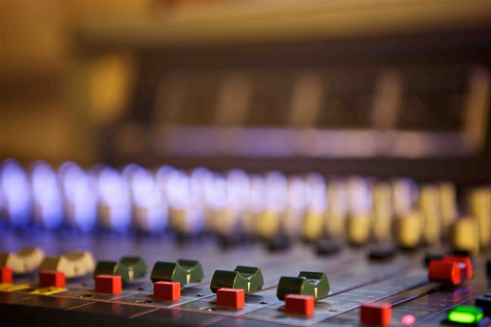 Mixing - The process of mixing together the separate layers/stems of a track into a dynamic and well rounded mix. Mixing involves using equalization, dynamics processing, and creative processes such as reverbs and delays. This is the most important stage of getting a track to sound rich and powerful.