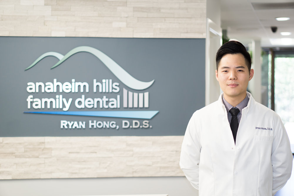 Ryan Hong, DDS - Dr. Hong grew up in Diamond Bar, CA, and graduated from Diamond Bar High School. He earned his bachelor's degree in biological sciences from the University of the Pacific and his Doctor of Dental Surgery degree from the University of Pacific, School of Dentistry.Dr. Hong takes over 100 hours of continuing education courses each year, so he can provide his patients with the latest techniques and is committed to delivering a dental experience full of compassion, integrity, and skill. He is a member of the California Dental Association, the American Dental Association, and the Orange County Dental Society.In his free time, he enjoys rooting for the Lakers, Dodgers, and Rams.