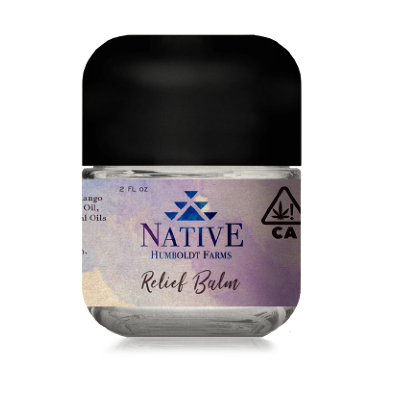 Native Humboldt,  (Hybrid)  2oz Relief Balm Topical, Sungrown Light Dep