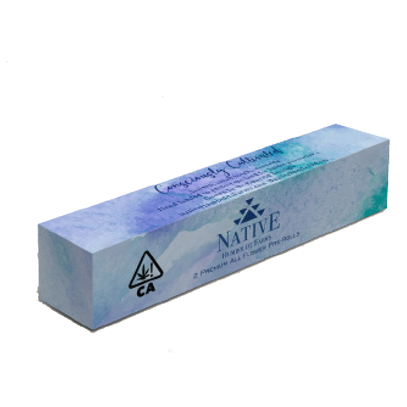 Native Humboldt,  Birthday Cake  2 Pack Pre-Roll, Sungrown Light Dep