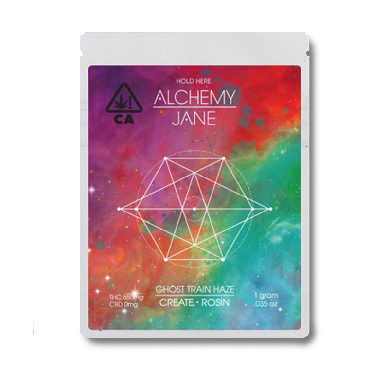 Alchemy Jane , Ghost Train Haze  1g Full Spectrum Solventless Rosin