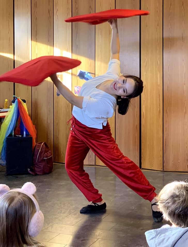 Balansekunstneren Gulli i Solsikken Barnehage