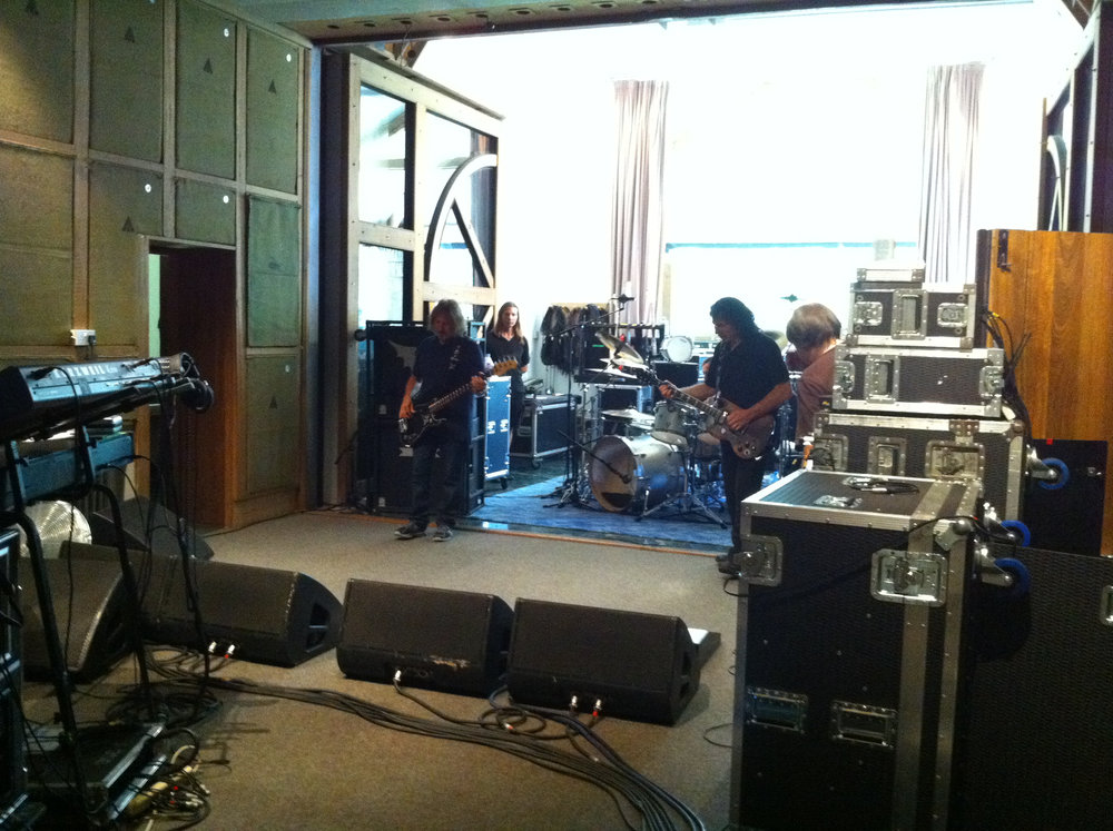 Rehearsals for High Voltage 2010