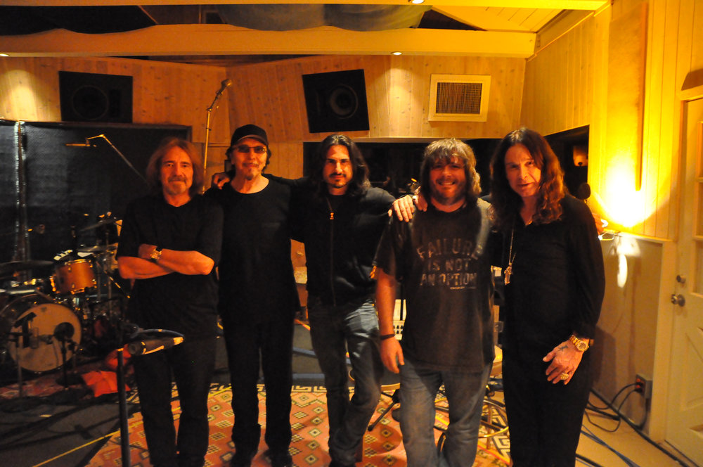 Final Band Tracking Day - Black Sabbath 13
