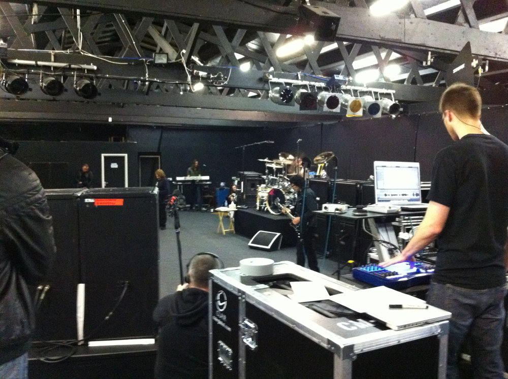 Rehearsals for Download 2012