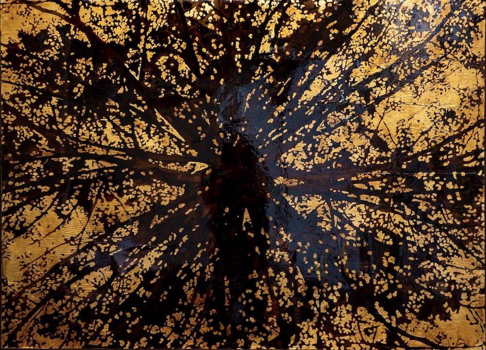 "Inside the Tree  48"" x 60"""
