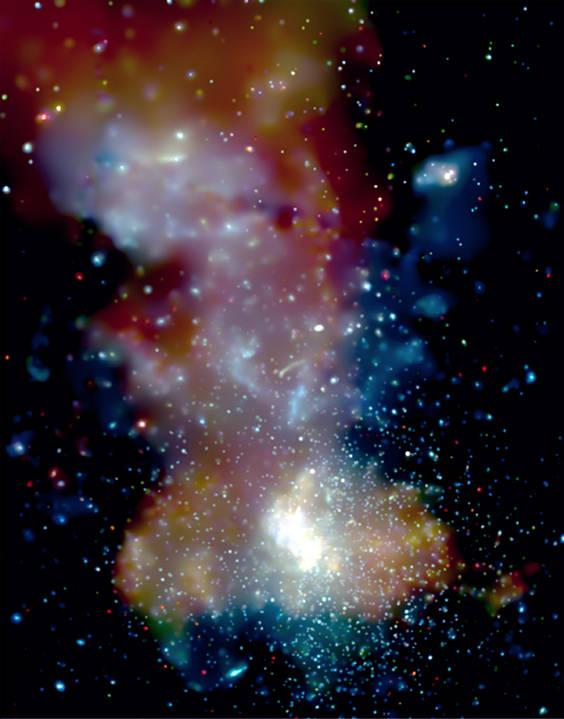 Image credit: NASA/CXC/UMass Amherst/Q.D.Wang et al.