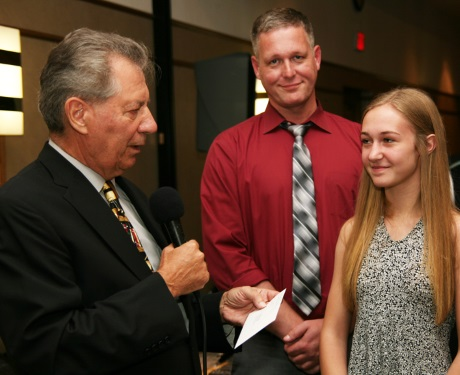 Judge Perk, K. Diemert Mem. Awardee Colleen (absent) Baldrey's father HHts PO Jeff