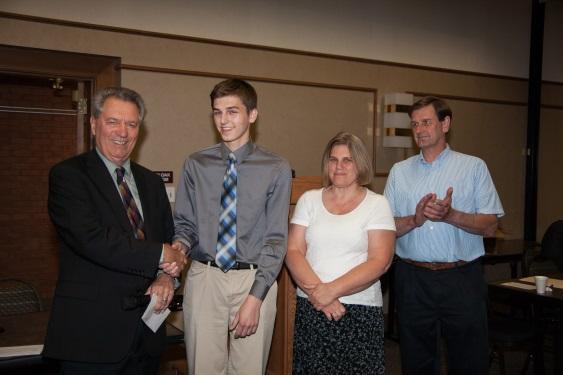 Judge Ralph Perk, Jr. (ret.), & Philip Patterson and parents Nancy & Daniel Patterson