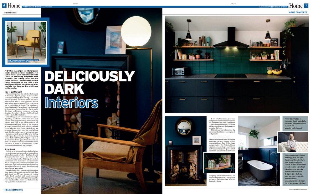 Dark Interiors Home Belfast