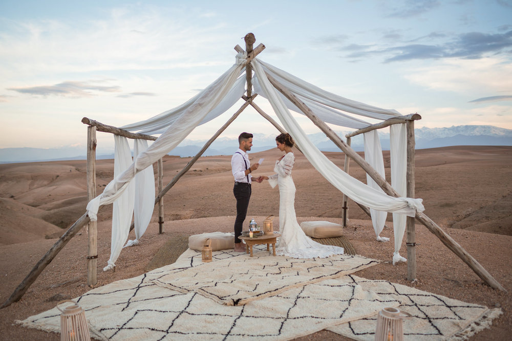 Raquel and Miguel | wedding in the desert