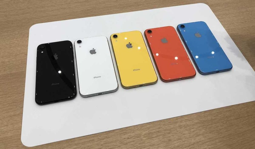 iPhone XR On Display At Apple Store