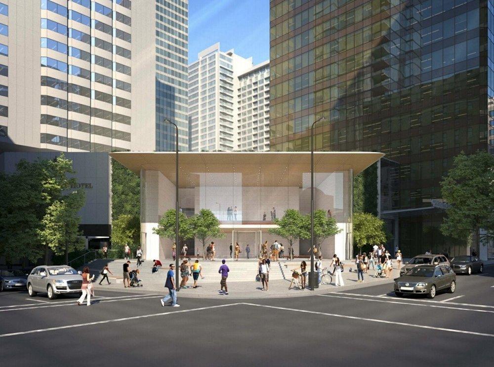 Future Apple Store Location