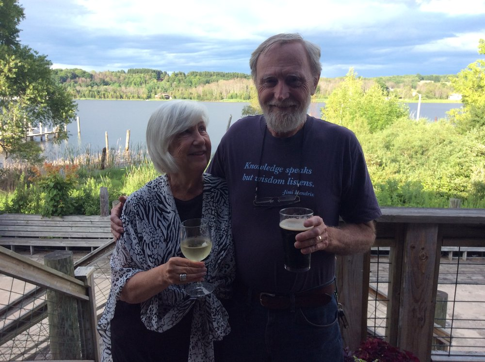 """Randy & Kay bond - Kay and Randy began their activism in 1987 opposing the nuclear arms race. They were co-founders of the Michigan Peace team and have worked in war zones around the globe. They have been called """" adjudicators, troublemakers and irritants"""" and they gladly accept those terms as their occupation."""