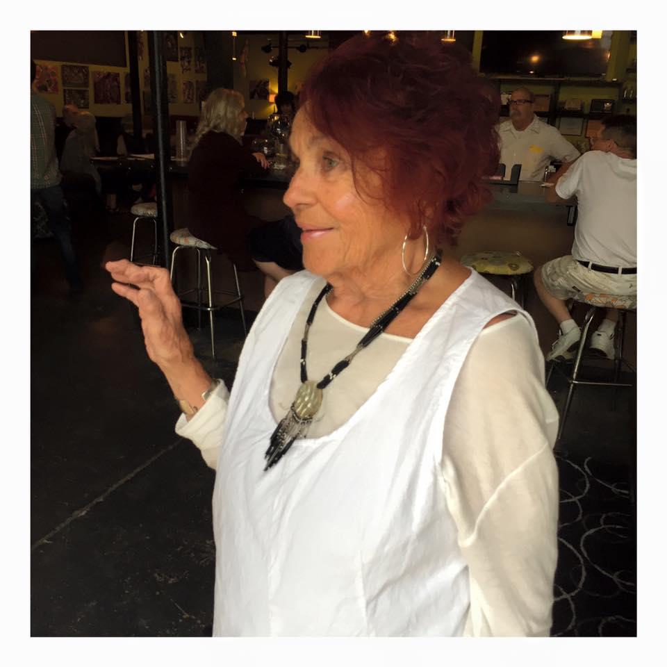 sally neal - 88 years oldBoard memberHarm Reduction MichiganPainterActivistFacilitated IndyFlix film seriesInitiated 5th & Oak Tuesday lunch