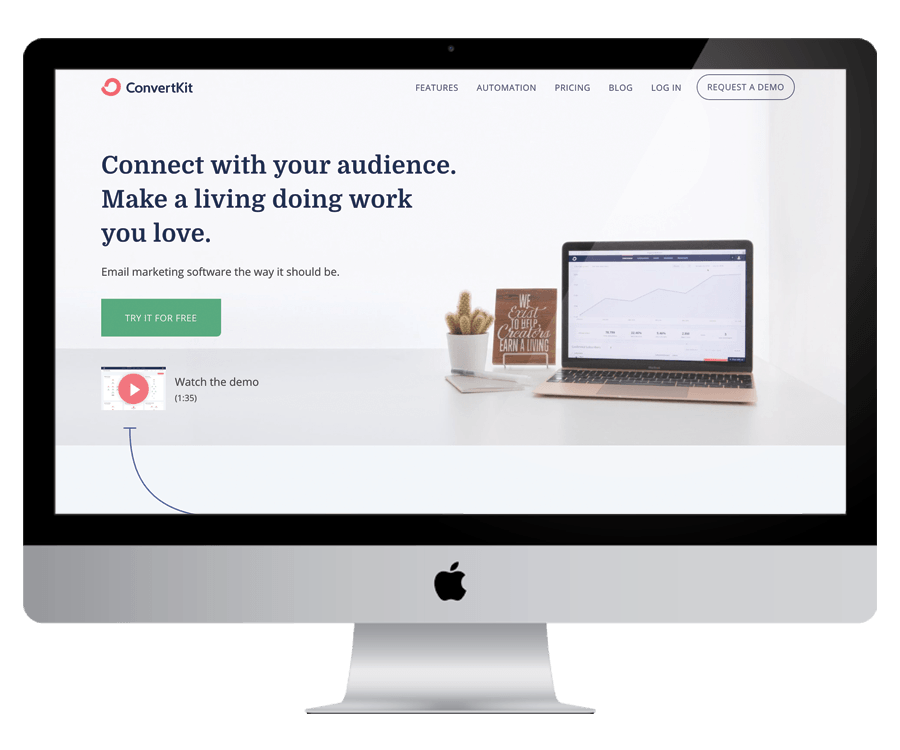 ConvertKit - For building your email list