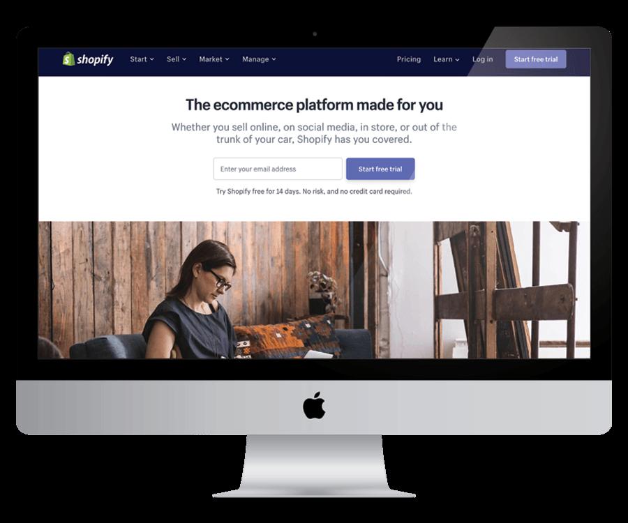 Shopify - a platform for your online shop
