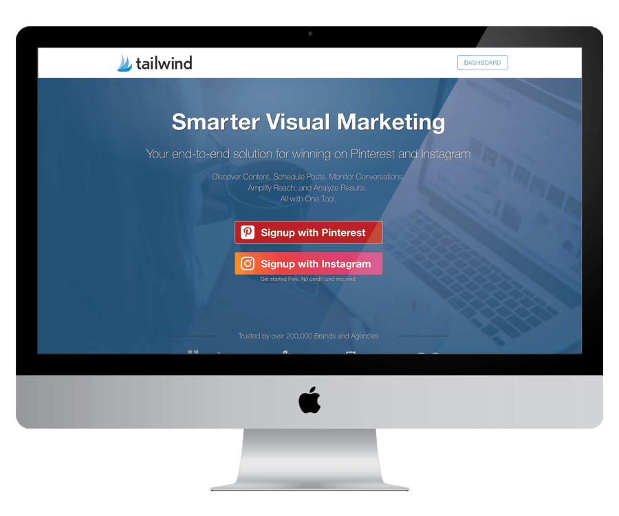 Tailwind - To schedule and grow your Pinterest