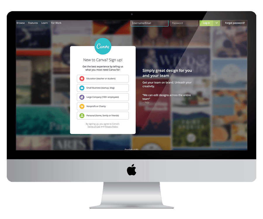 Canva - To design your marketing graphics