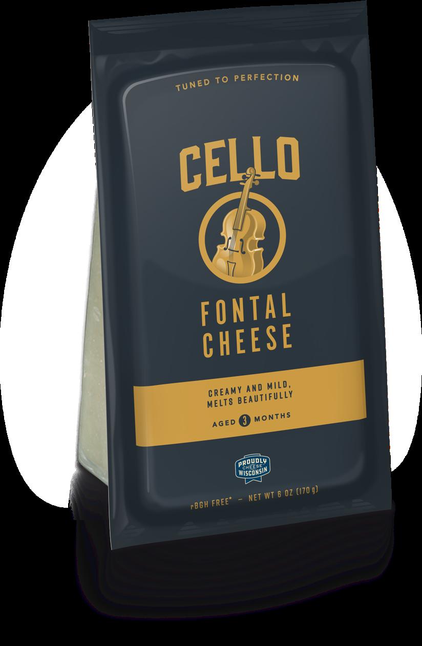 Cello Fontal Cheese