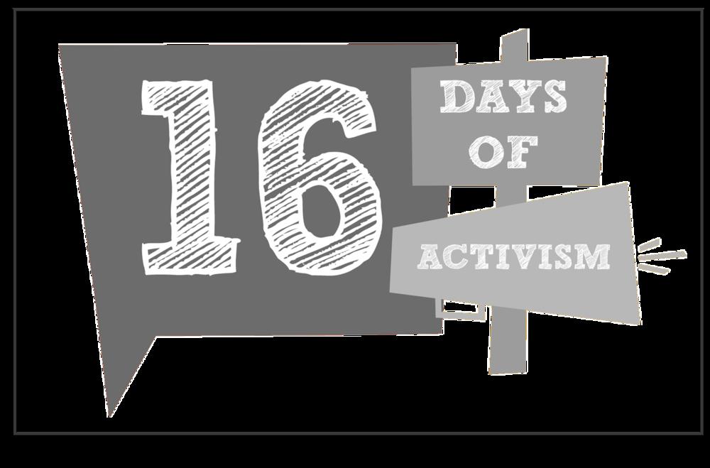 16 Days of Activism Against Violence Against Women -