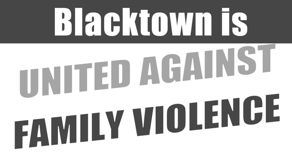 Blacktown is United Against Family Violence Group -