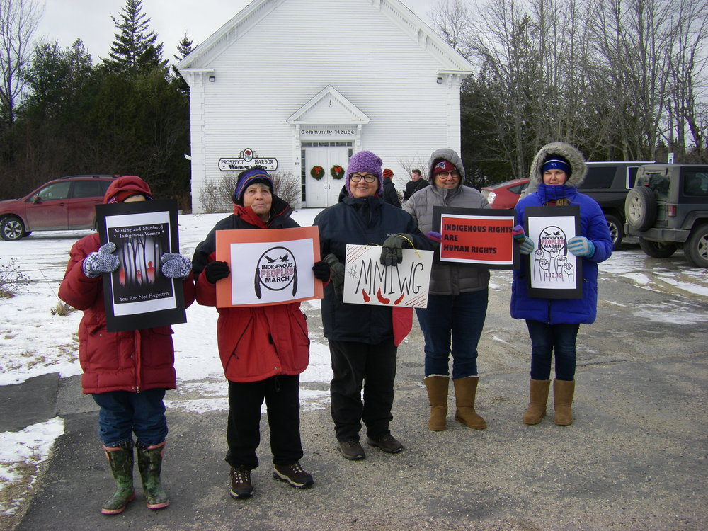 1-2019-01-18 Indigenous Peoples  Solidarity March-Prospect Harbor, Maine  Photo credit Suzanne Jean.JPG