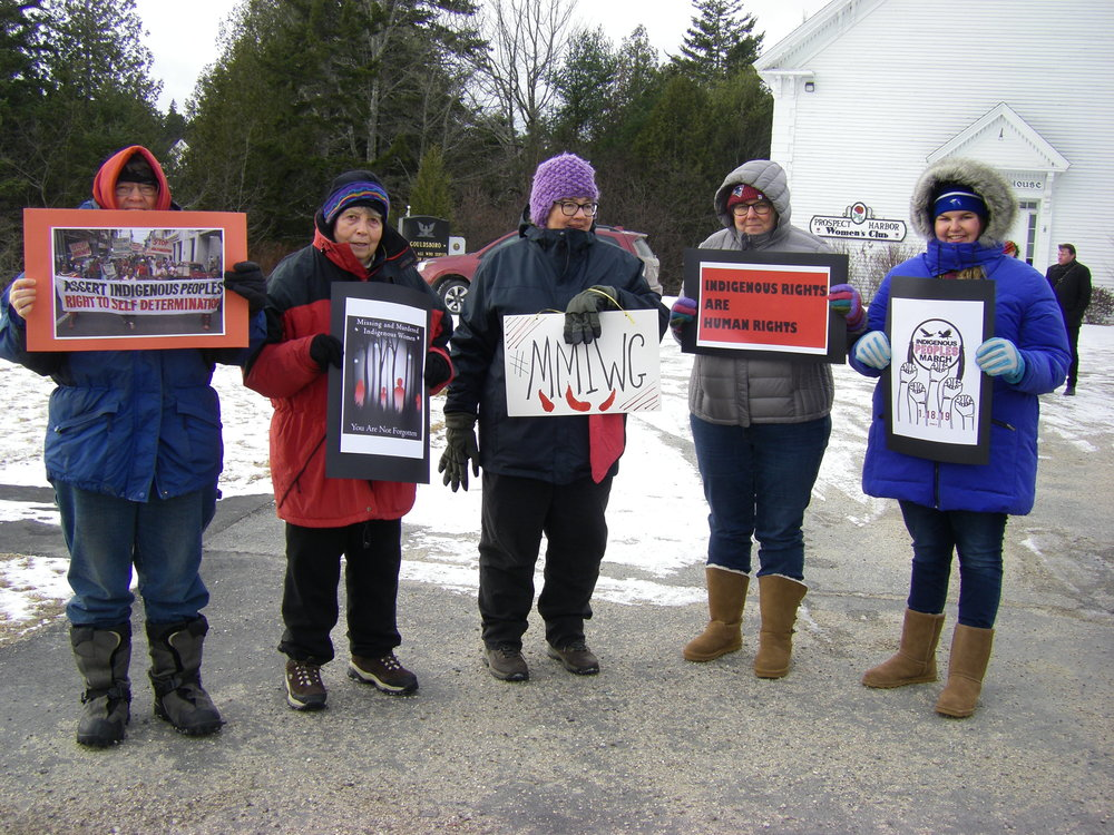 2-2019-01-18 Indigenous Peoples  Solidarity March-Prospect Harbor, Maine  photo credit Annie C.JPG
