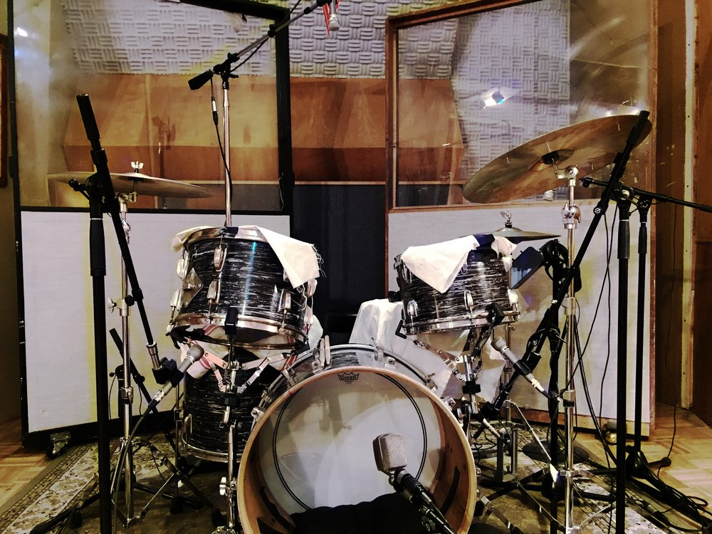 Abbey Road Drums - Learn how engineers like Geoff Emerick mic'd up Ringo's kit on albums like Sgt. Peppers and Abbey Road with the same microphones, drums and compressors.