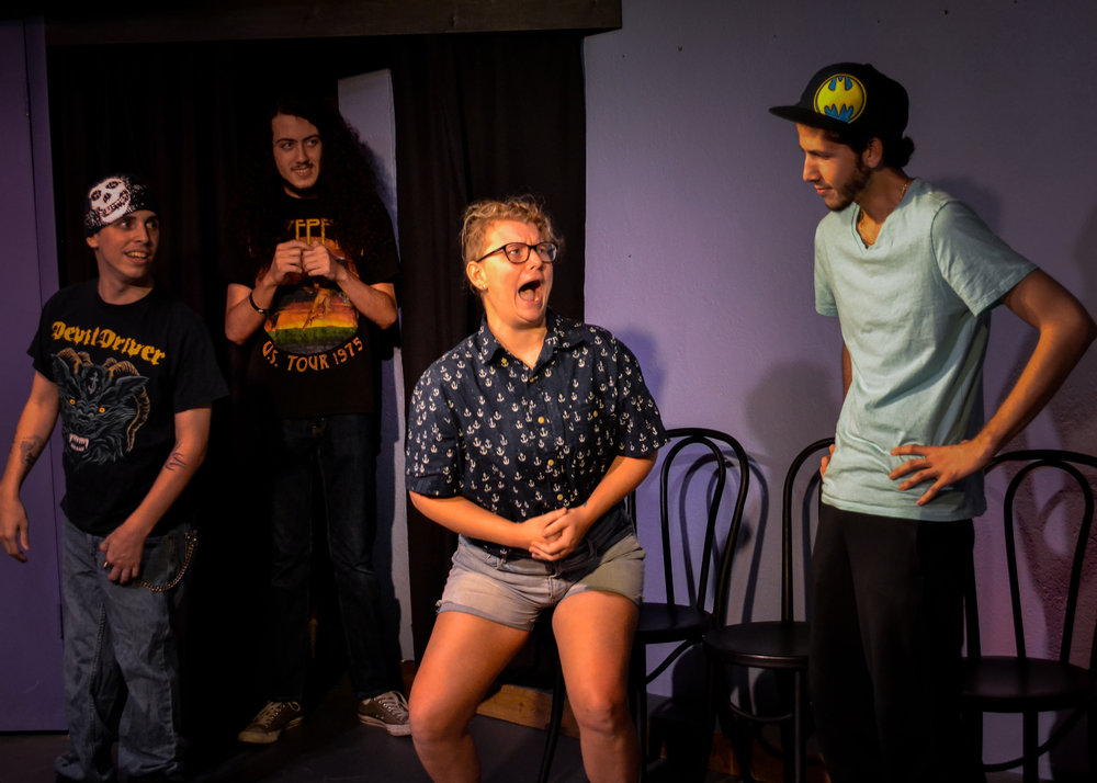 Beck Fisher at the St Pete Improv Jam.