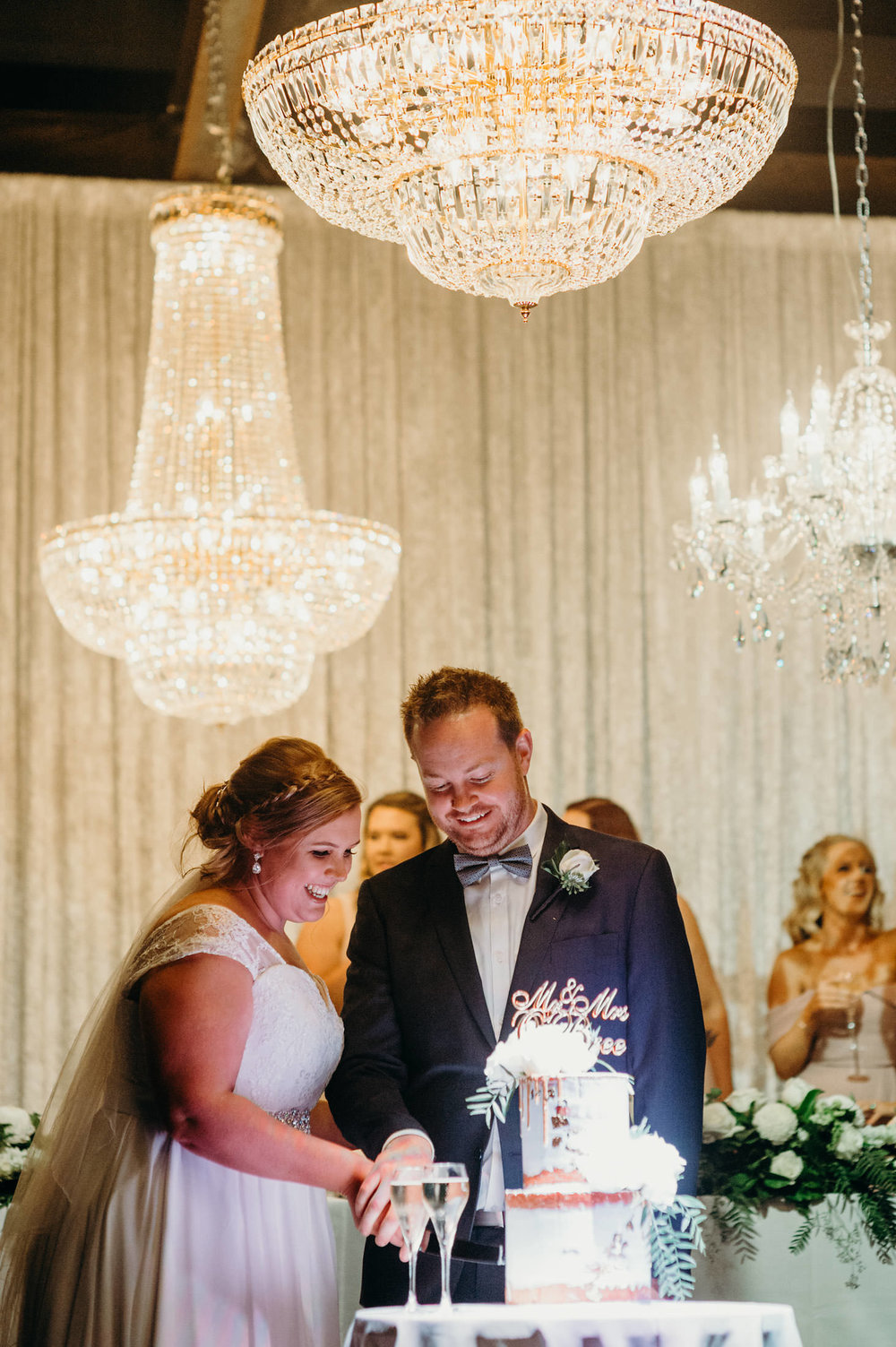 chandeliers for wedding reception