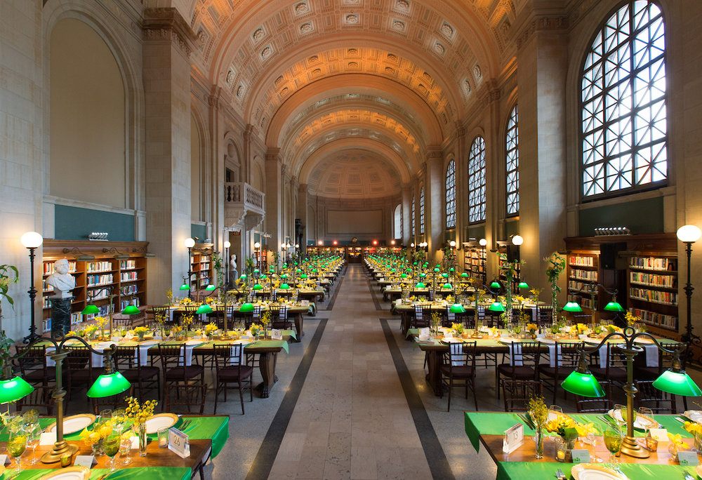 Boston Public Library - Opening Gala & Preview