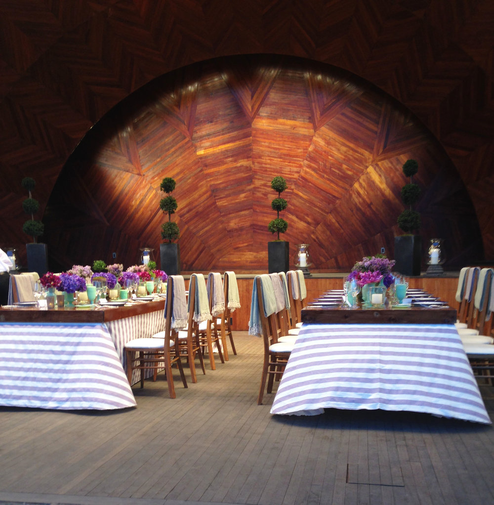 Hatch Memorial Shell Dinner