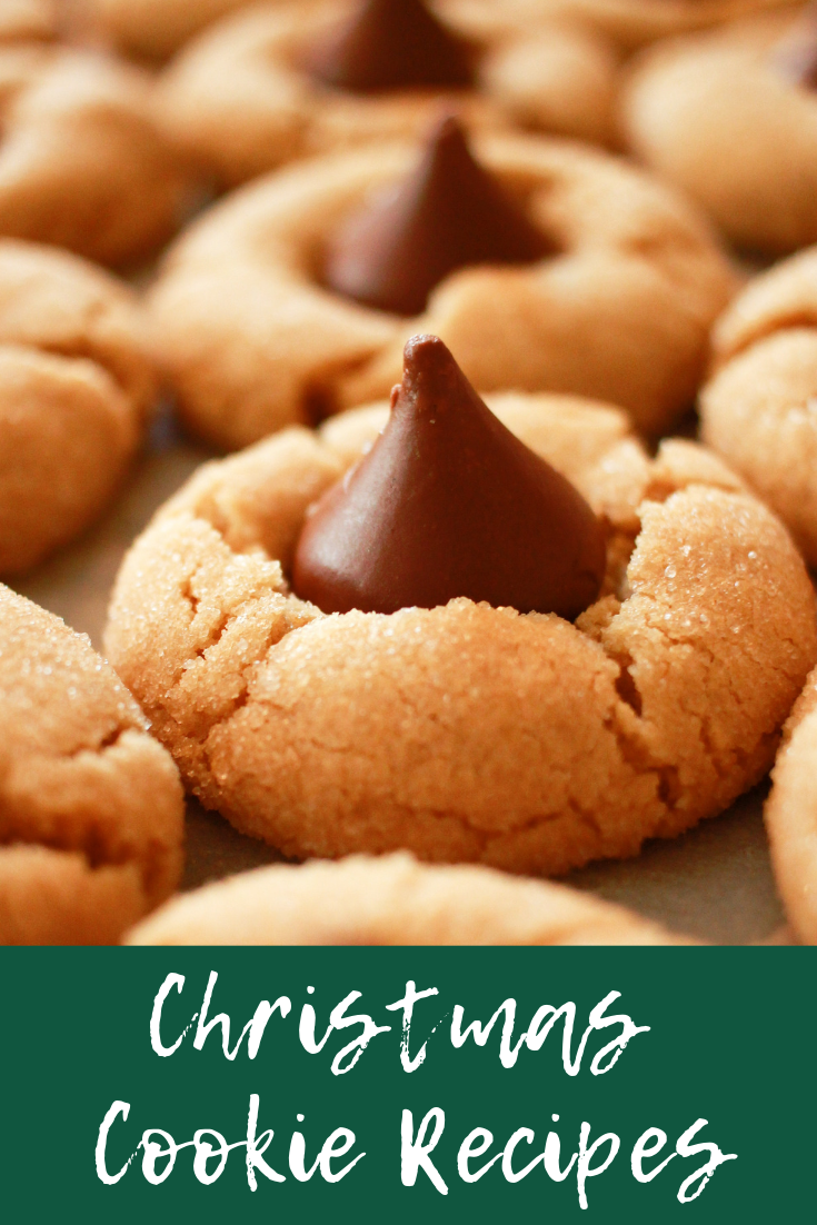 Christmas Cookie Recipes | Christmas Cookies | Cookie Recipes | Peanut Butter Chocolate Chip Kiss Cookies | Pumpkin Chocolate Chip Cookies | Greek Pastries | Greek Cookies | s'more happiness
