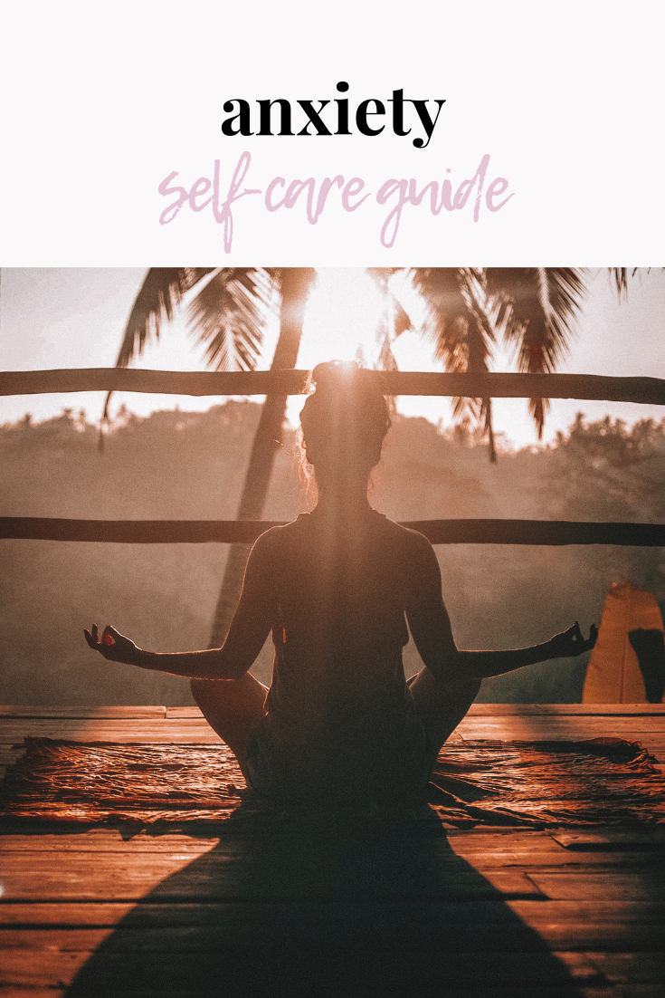 anxiety self-care guide | anxiety relief | anxiety help | feeling anxious | self-care | self-care guide | s'more happiness