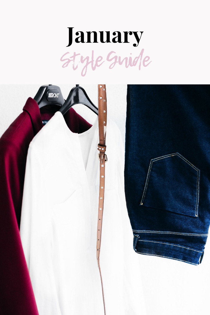January Style Guide | What to wear in January | What I'm Wearing in January | Winter style guide | winter fashion | cozy style | cozy clothes | s'more happiness