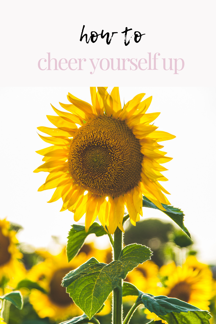 how to cheer yourself up | get out of a rut | happy tips | positive tips | how to get out of a bad mood | how to stay positive in times of change | s'more happiness