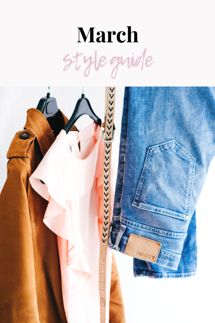March Style Guide | March Fashion | Style Guide | Spring Style Guide | Work Outfit Ideas | Style | s'more happiness