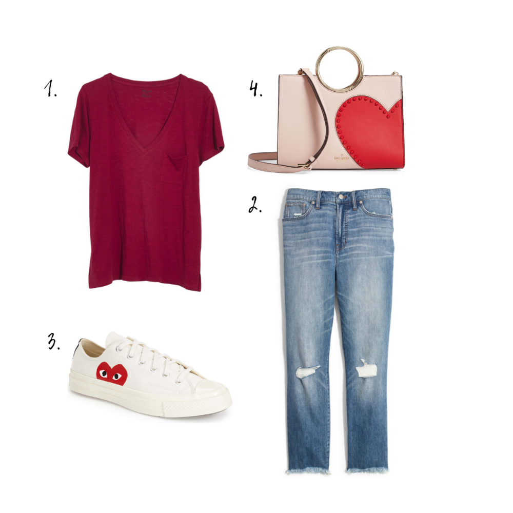 Outfit Details - 1. Top2. Jeans3. Sneakers4. Bag