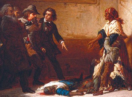 Thomas Satterwhite Noble's 1867 paintingMargaret Garner(a.k.a. The Modern Medea)