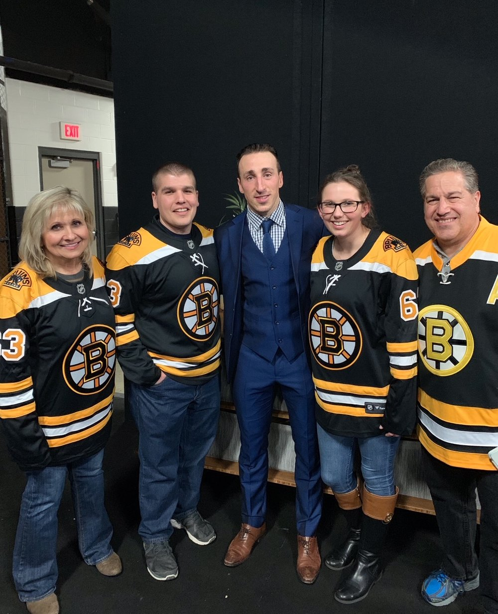We had the pleasure of customizing a private meet and greet for our VIP client with  Brad Marchand  post-game back in March 2019