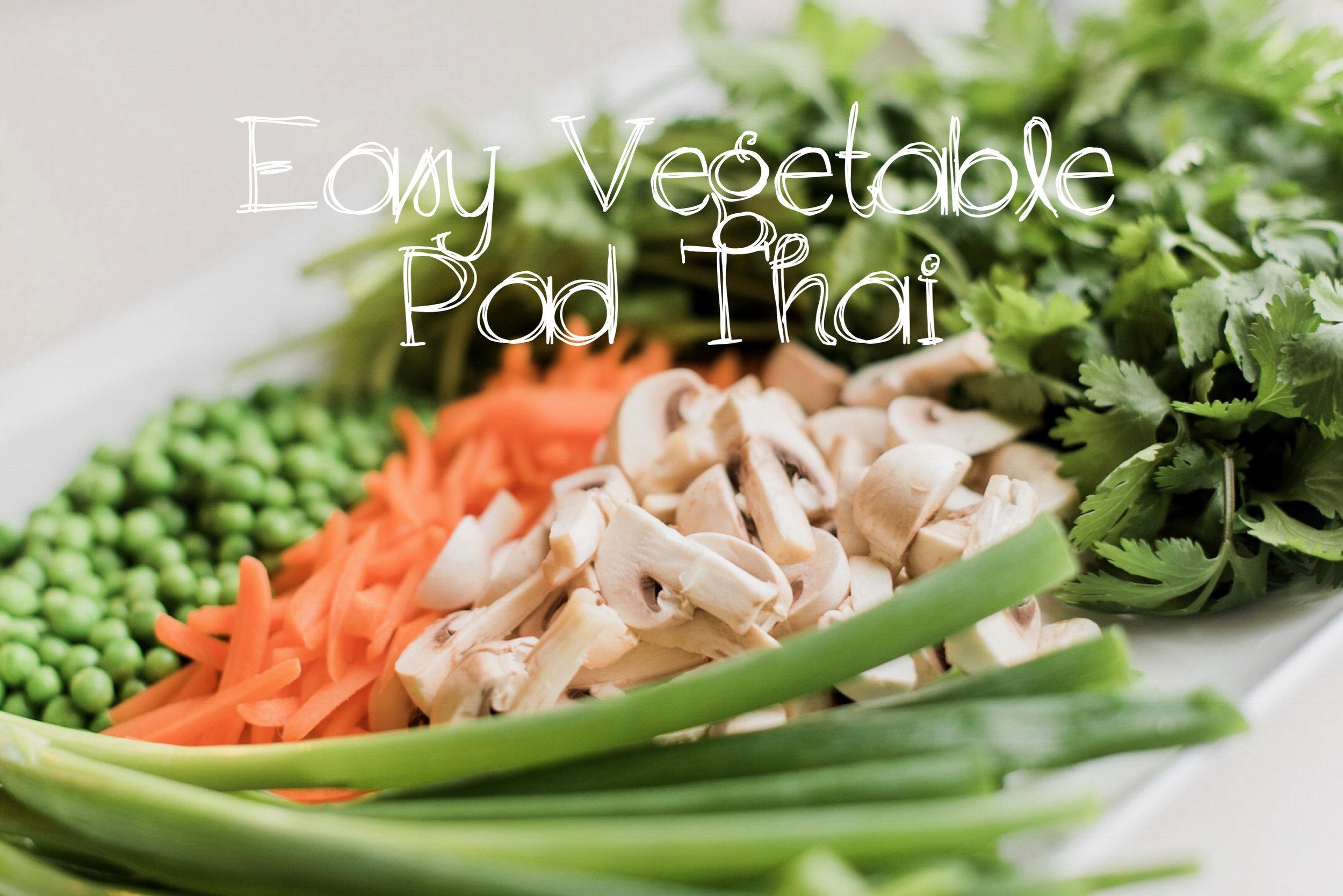 Easy Pad Thai Recipe   Coconut and Rain