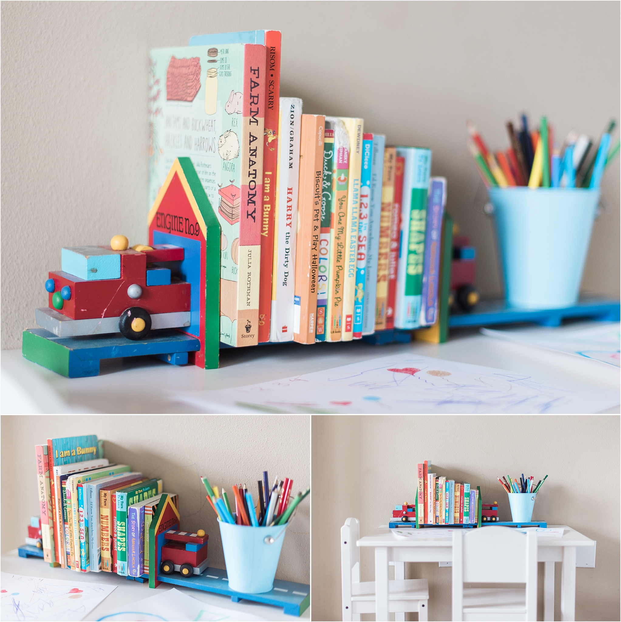 Books in the Home; reading with your children