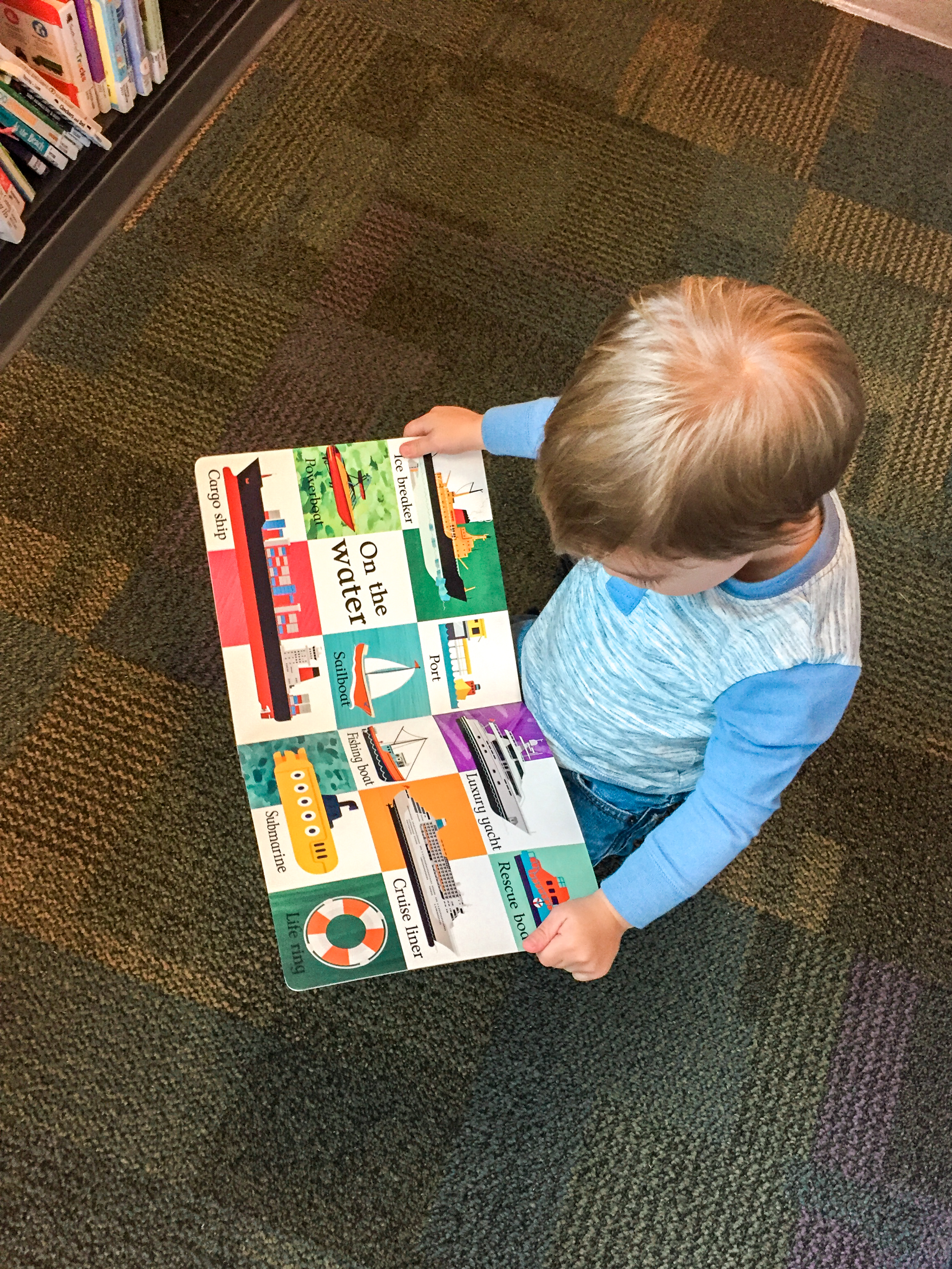 Visiting the Library with your Toddler | Coconut and Rain