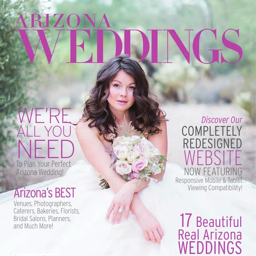 AZ Wedding Cover // 2016