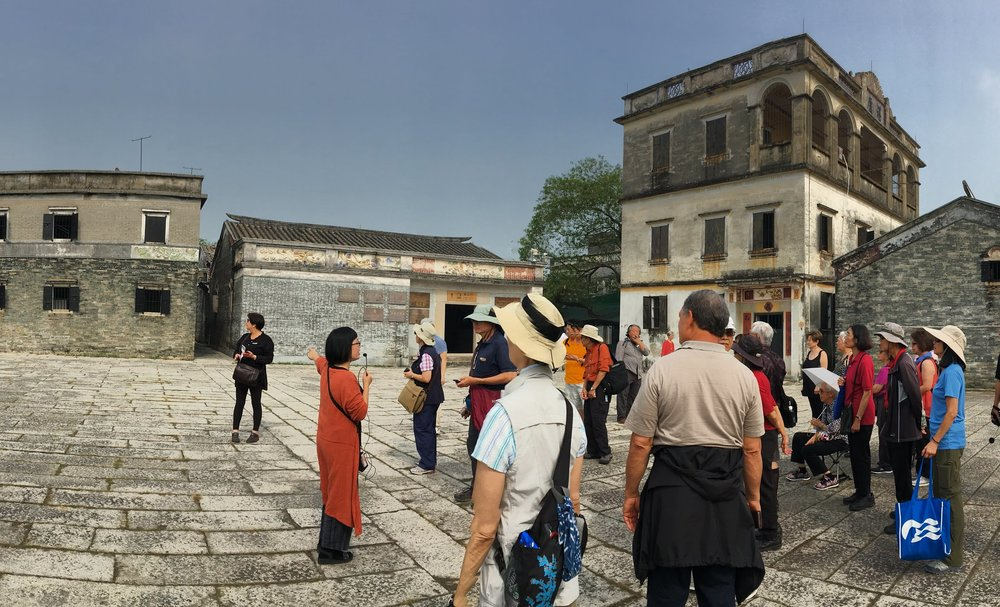 Dr. Tan led our morning tour of Zilicun, explaining architectural features, typical home design, history, and overall feng shui aspects of the village.