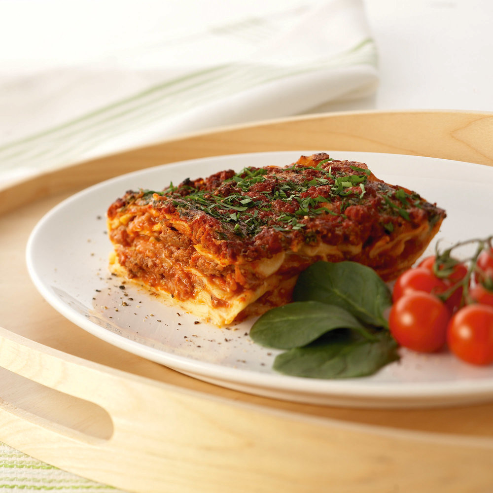 Gluten free - Award winning, Gluten free beef lasagna (500gm, 300gm) and Gluten free roasted vegetables and fresh basil lasagna (500gm). You won't believe that these products don't contain wheat, they are the closest thing to the real deal! Made from a mixture of besan (chickpea) flour, potato flour and rice flour, we also use eggs to keep it as authentic as possible! Also available are pizza bases (150gm) in both tomato and garlic. Hand stretched and made with a mix of potato & maize flours these bases have the flavour and texture of a traditional pizza base.