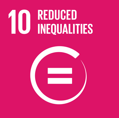 Goal 10: Reduced Inequalities - We champion programs and policies that reduce inequalities in the region